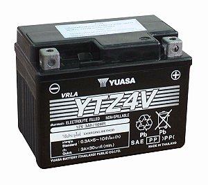 Bateria de Moto Yuasa 3,2Ah - Ytz4V