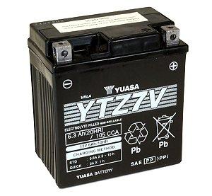 Bateria de Moto Yuasa 6,3Ah - Ytz7V