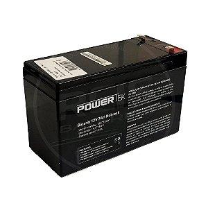 Bateria Estacionária VRLA ( AGM ) PowerTek 12V – 7Ah – EN013
