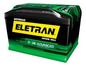 Bateria Eletran Advanced 80Ah - 80APD ( Cx. Alta ) - Selada