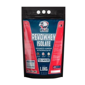 RevoWhey Isolate (Carne) 1.8kg  - Revolts Nutrition