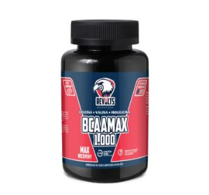 Bcaa - BcaaMax 1.000 120 Tabs - Revolts Nutrition