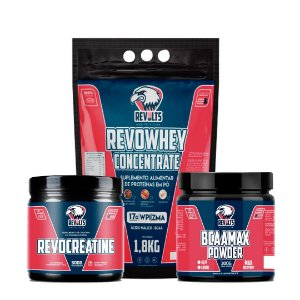 RevoCreatine 300g  + RevoWhey Concentrate 1,8kg + BcaaMax Powder 300g