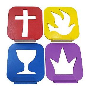 Logo Igreja Quadrangular em MDF