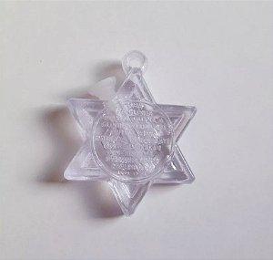 Pingente Estrela de Davi Porta Óleo - Igreja Mundial - IMPD