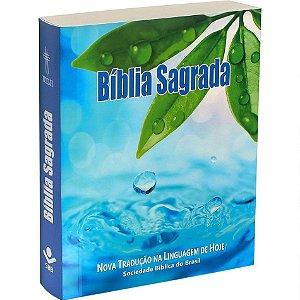 Bíblia Sagrada Edição Compacta Capa Azul