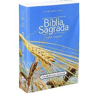 Bíblia Sagrada Revista e Atualizada com Letra Gigante