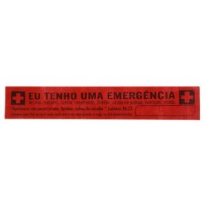 Faixa em TNT Eu Tenho uma Emergência