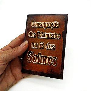 Livreto de Salmos Consagração dos Dizimistas