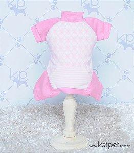 Macacão Soft Rosa
