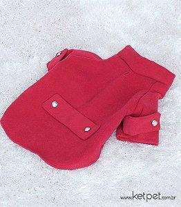 Casaco Lã Imperial Vermelho