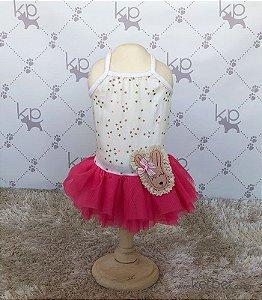 Vestido Estrela Rosa