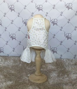 Vestido Estrela Branco