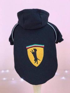 Moletom Race Ferrari - Black