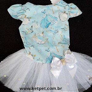 Vestido Princesa azul DuDog