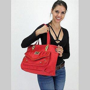 Linda Bolsa Pop Top Vermelha
