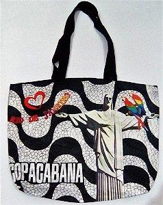 Bolsa de Praia Copacabana e Cristo Redentor