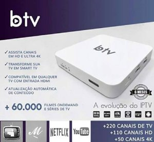 BTV FULL HD WIFI ANDROID