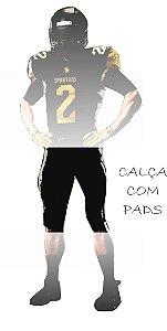 Calça Spartans ATLETA 10 ANOS COM PADS