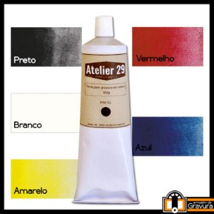 Tinta Atelier 29 Para Gravura Em Relevo 100 g