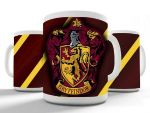 Caneca Hogwarts - Grifinória