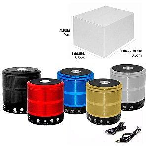 Caixa de som Por USB e Bluetooth PRETA