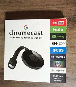 Google Chromecast 2 Chrome Cast 2-crome Hdmi 1080p