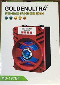 Caixas de Som Sistema de Alto-falante Móvel - Vermelha