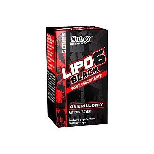 Lipo 6 Black Ultraconcentrado Nutrex 60 cápsulas