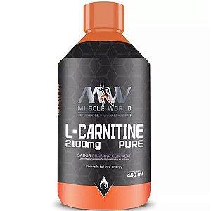 L-Carnitine Pure 480ml - MW Suplementos