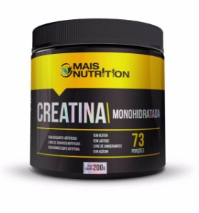 Creatina Monohidratada (200g) - Mais Nutrition