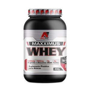 Whey Maxximus Proteína Isolada 900g - All Fit Nutrition