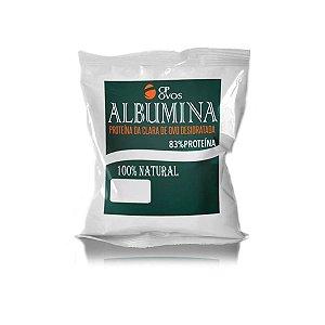 Albumina Desidratada 500g - Proteína Pura - Natural
