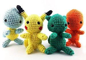 Kit Baby Pokemon Amigurumi