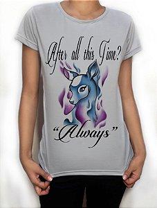 "Camiseta Exclusiva ""Always"" Harry Potter"