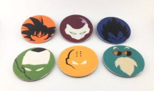 Conjunto de Imãs Dragon Ball