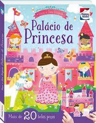 Livro - Faça e Brinque: Palácio De Princesa - 3D