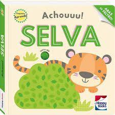 Livro - Pequeno Aprendiz - Achouuu! Selva