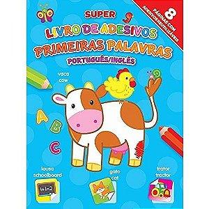 Livro - Primeiras Palavras: Português/Inglês