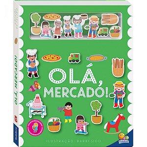 Livro - Amigos De Feltro: Olá, Mercado!