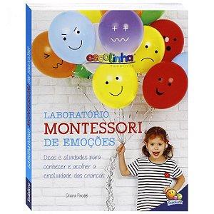 Livro - Escolinha Laboratório Montessori - Emoções