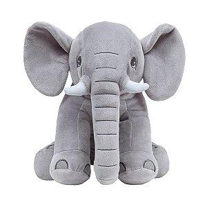 Elefante Gigante Cinza - Almofada Buba