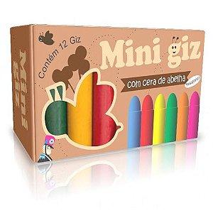 Giz De Cera - Mini Giz - 6 Cores