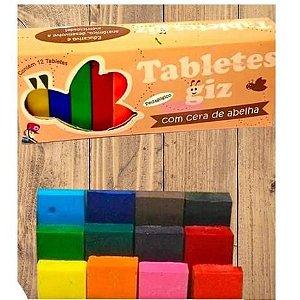 Tabletes de cera 12 cores
