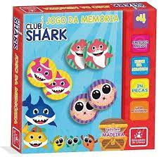 Jogo Da Memoria - Club Shark
