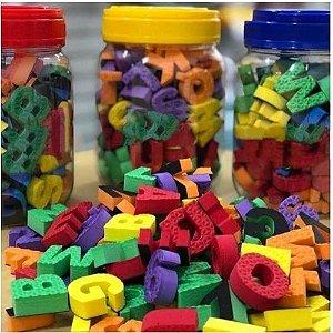 Pote - Alfabeto e Números Com Imã
