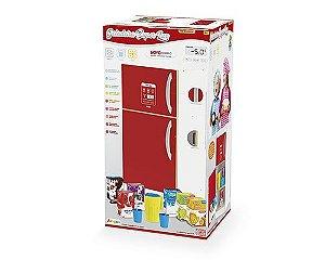 Geladeira Super Lux - Vermelha