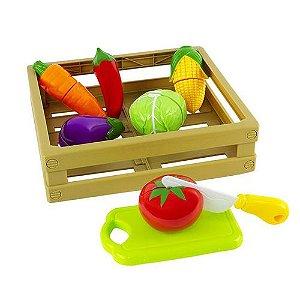 Kit Comidinhas - Frutas E Vegetais Com Corte