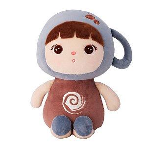 Boneca Mini Jimbao Metoo - Cafe Com Leite