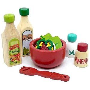 Coleção Comidinha - Kit Salada - Caixa